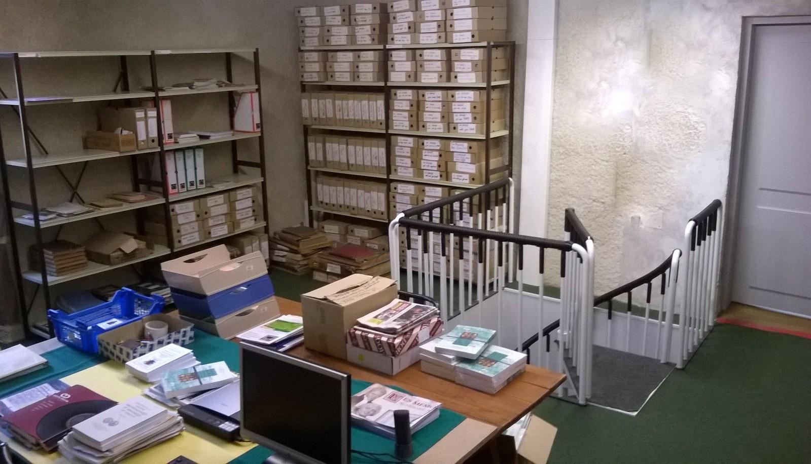 salle d'archives almanach de brioude